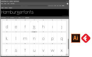 Taller creación de tipografías